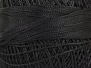 Fiber Content 100% Micro Fiber, Brand YarnArt, Black, Yarn Thickness 0 Lace Fingering Crochet Thread, fnt2-17303
