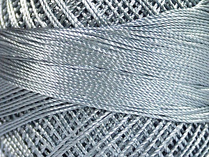 Fiber Content 100% Micro Fiber, Brand YarnArt, Grey, Yarn Thickness 0 Lace  Fingering Crochet Thread, fnt2-17312