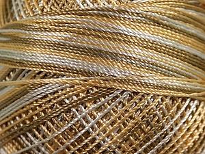Fiber Content 100% Micro Fiber, Brand YarnArt, Khaki, Cream, Beige, Yarn Thickness 0 Lace  Fingering Crochet Thread, fnt2-17340