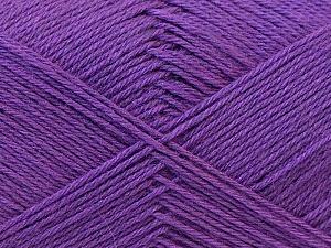 Fiber Content 60% Merino Wool, 40% Acrylic, Lavender, Brand ICE, Yarn Thickness 2 Fine  Sport, Baby, fnt2-21106