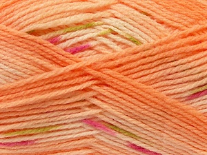 Fiber Content 100% Baby Acrylic, Pink, Light Orange, Brand ICE, Green, Yarn Thickness 2 Fine  Sport, Baby, fnt2-22040