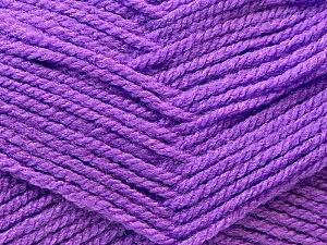 Fiber Content 100% Acrylic, Lavender, Brand ICE, Yarn Thickness 3 Light  DK, Light, Worsted, fnt2-22421