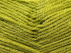 Fiber Content 100% Acrylic, Light Green, Brand ICE, Yarn Thickness 3 Light  DK, Light, Worsted, fnt2-22424