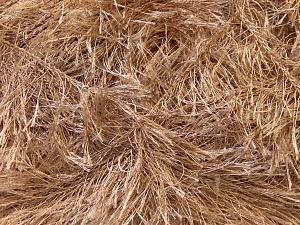 Fiber Content 100% Polyester, Light Camel, Brand ICE, Yarn Thickness 5 Bulky  Chunky, Craft, Rug, fnt2-22705