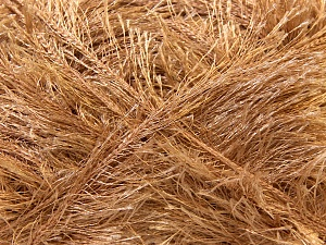Fiber Content 100% Polyester, Brand ICE, Camel, Yarn Thickness 5 Bulky  Chunky, Craft, Rug, fnt2-22706