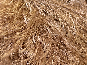 Fiber Content 100% Polyester, Light Camel, Brand Ice Yarns, Yarn Thickness 5 Bulky Chunky, Craft, Rug, fnt2-22751