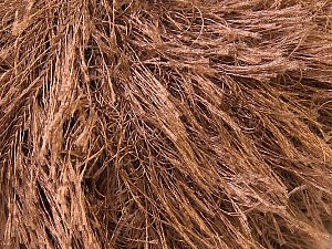 Fiber Content 100% Polyester, Brand Ice Yarns, Brown, Yarn Thickness 5 Bulky Chunky, Craft, Rug, fnt2-22753