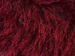 Fiber Content 100% Polyester, Brand ICE, Dark Red, Yarn Thickness 5 Bulky  Chunky, Craft, Rug, fnt2-22763