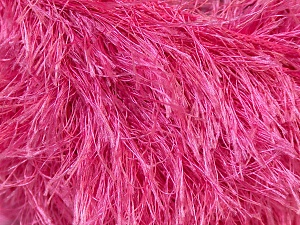 Fiber Content 100% Polyester, Brand ICE, Candy Pink, Yarn Thickness 5 Bulky  Chunky, Craft, Rug, fnt2-22768