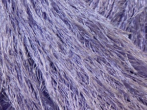 Fiber Content 100% Polyester, Light Lilac, Brand Ice Yarns, Yarn Thickness 5 Bulky Chunky, Craft, Rug, fnt2-22773