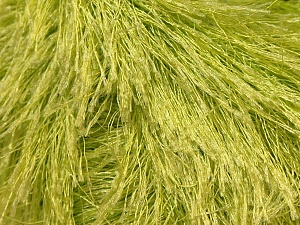 Fiber Content 100% Polyester, Light Green, Brand Ice Yarns, Yarn Thickness 5 Bulky Chunky, Craft, Rug, fnt2-22783