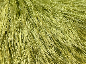 Fiber Content 100% Polyester, Brand Ice Yarns, Green, Yarn Thickness 5 Bulky Chunky, Craft, Rug, fnt2-22784