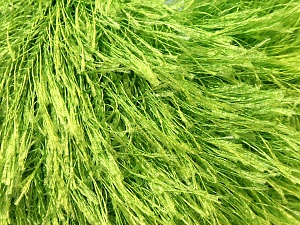 Fiber Content 100% Polyester, Brand Ice Yarns, Green, Yarn Thickness 5 Bulky Chunky, Craft, Rug, fnt2-22786