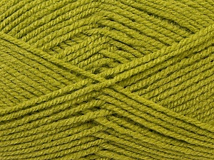 Worsted  Fiber Content 100% Acrylic, Light Green, Brand ICE, Yarn Thickness 4 Medium  Worsted, Afghan, Aran, fnt2-23737