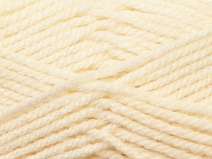 Bulky  Fiber Content 100% Acrylic, Brand ICE, Ecru, Yarn Thickness 5 Bulky  Chunky, Craft, Rug, fnt2-23745