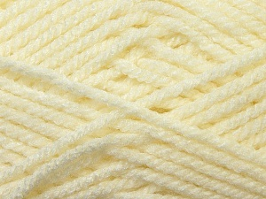 Bulky  Fiber Content 100% Acrylic, Brand ICE, Cream, Yarn Thickness 5 Bulky  Chunky, Craft, Rug, fnt2-23746