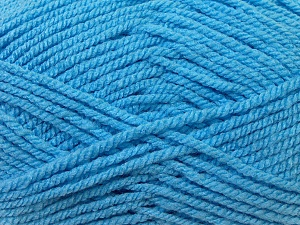 Bulky  Fiber Content 100% Acrylic, Light Blue, Brand ICE, Yarn Thickness 5 Bulky  Chunky, Craft, Rug, fnt2-23761
