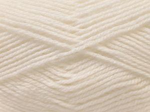 Fiber Content 100% Baby Acrylic, White, Brand ICE, Yarn Thickness 2 Fine  Sport, Baby, fnt2-23774