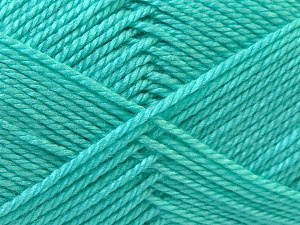 Fiber Content 100% Acrylic, Light Green, Brand ICE, Yarn Thickness 2 Fine  Sport, Baby, fnt2-23893