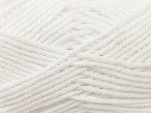 Bulky  Fiber Content 100% Acrylic, White, Brand ICE, Yarn Thickness 5 Bulky  Chunky, Craft, Rug, fnt2-24500