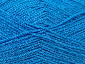 Fiber Content 100% Baby Acrylic, Brand ICE, Blue, Yarn Thickness 2 Fine  Sport, Baby, fnt2-24532