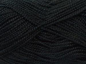 Fiber Content 100% Acrylic, Brand ICE, Black, Yarn Thickness 1 SuperFine  Sock, Fingering, Baby, fnt2-24585