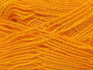 Fiber Content 100% Acrylic, Yellow, Brand ICE, Yarn Thickness 1 SuperFine  Sock, Fingering, Baby, fnt2-24600