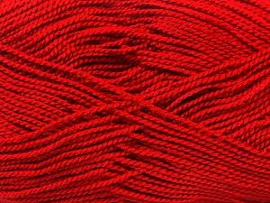 Fiber Content 100% Acrylic, Brand ICE, Dark Red, Yarn Thickness 1 SuperFine  Sock, Fingering, Baby, fnt2-24612