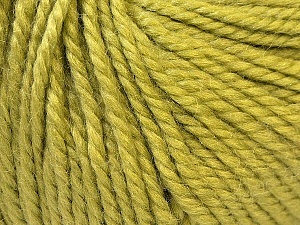 Fiber Content 40% Acrylic, 35% Wool, 25% Alpaca, Brand ICE, Green, Yarn Thickness 5 Bulky  Chunky, Craft, Rug, fnt2-25401