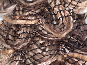 Fiber Content 90% Acrylic, 10% Polyester, Brand ICE, Brown Shades, Yarn Thickness 6 SuperBulky  Bulky, Roving, fnt2-25476