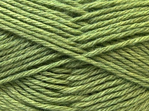 Fiber Content 70% Dralon, 30% Alpaca, Brand ICE, Green, Yarn Thickness 4 Medium  Worsted, Afghan, Aran, fnt2-25665