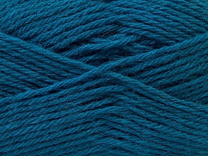 Fiber Content 70% Dralon, 30% Alpaca, Brand ICE, Blue, Yarn Thickness 4 Medium  Worsted, Afghan, Aran, fnt2-25667