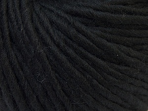 Fiber Content 100% Wool, Brand Ice Yarns, Black, Yarn Thickness 5 Bulky Chunky, Craft, Rug, fnt2-25992