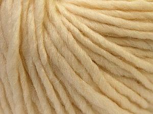 Contenido de fibra 100% Lana, Brand Ice Yarns, Cream, Yarn Thickness 5 Bulky Chunky, Craft, Rug, fnt2-25993