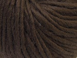 Contenido de fibra 100% Lana, Brand Ice Yarns, Brown, Yarn Thickness 5 Bulky Chunky, Craft, Rug, fnt2-25995