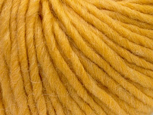Fiber Content 100% Wool, Brand Ice Yarns, Gold, Yarn Thickness 5 Bulky  Chunky, Craft, Rug, fnt2-25999