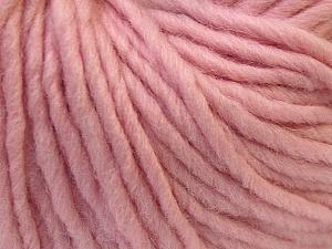 Fiber Content 100% Wool, Light Pink, Brand Ice Yarns, Yarn Thickness 5 Bulky Chunky, Craft, Rug, fnt2-26008