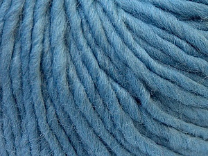 Fiber Content 100% Wool, Light Blue, Brand ICE, Yarn Thickness 5 Bulky  Chunky, Craft, Rug, fnt2-26011