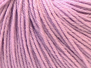Fiber Content 40% Merino Wool, 40% Acrylic, 20% Polyamide, Lilac, Brand ICE, Yarn Thickness 2 Fine  Sport, Baby, fnt2-26117