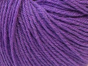 Fiber Content 40% Acrylic, 40% Merino Wool, 20% Polyamide, Purple, Brand ICE, Yarn Thickness 2 Fine  Sport, Baby, fnt2-26118