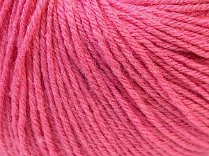 Fiber Content 40% Merino Wool, 40% Acrylic, 20% Polyamide, Pink, Brand ICE, Yarn Thickness 2 Fine  Sport, Baby, fnt2-26120