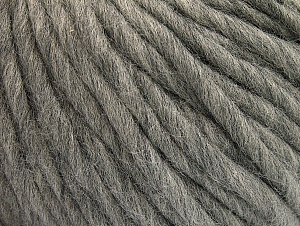 Περιεχόμενο ίνας 100% Αυστραλιανό μαλλί, Light Grey, Brand Ice Yarns, Yarn Thickness 6 SuperBulky  Bulky, Roving, fnt2-26150