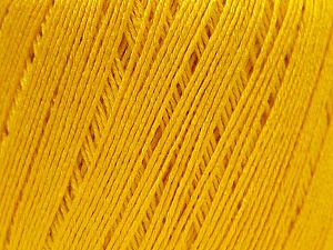 Fiber Content 50% Viscose, 50% Linen, Yellow, Brand ICE, Yarn Thickness 2 Fine  Sport, Baby, fnt2-27257