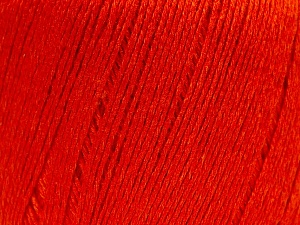 Fiber Content 50% Viscose, 50% Linen, Orange, Brand Ice Yarns, Yarn Thickness 2 Fine  Sport, Baby, fnt2-27258