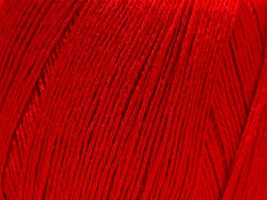 Fiber Content 50% Viscose, 50% Linen, Red, Brand Ice Yarns, Yarn Thickness 2 Fine  Sport, Baby, fnt2-27260