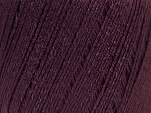 Fiber Content 50% Viscose, 50% Linen, Maroon, Brand ICE, Yarn Thickness 2 Fine  Sport, Baby, fnt2-27265
