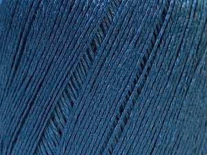 Fiber Content 50% Viscose, 50% Linen, Brand Ice Yarns, Blue, Yarn Thickness 2 Fine  Sport, Baby, fnt2-27266