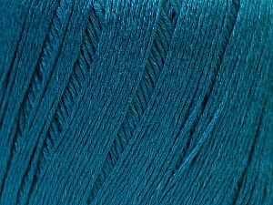 Fiber Content 50% Viscose, 50% Linen, Teal, Brand ICE, Yarn Thickness 2 Fine  Sport, Baby, fnt2-27271