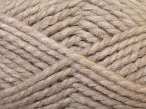 SuperBulky  Fiber Content 60% Acrylic, 30% Alpaca, 10% Wool, Brand ICE, Beige, Yarn Thickness 6 SuperBulky  Bulky, Roving, fnt2-30827