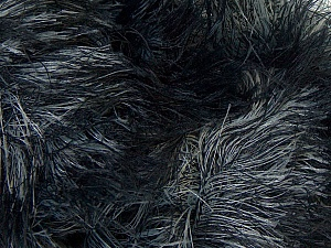 Fiber Content 100% Polyamide, Brand ICE, Grey, Black, Yarn Thickness 5 Bulky  Chunky, Craft, Rug, fnt2-31646